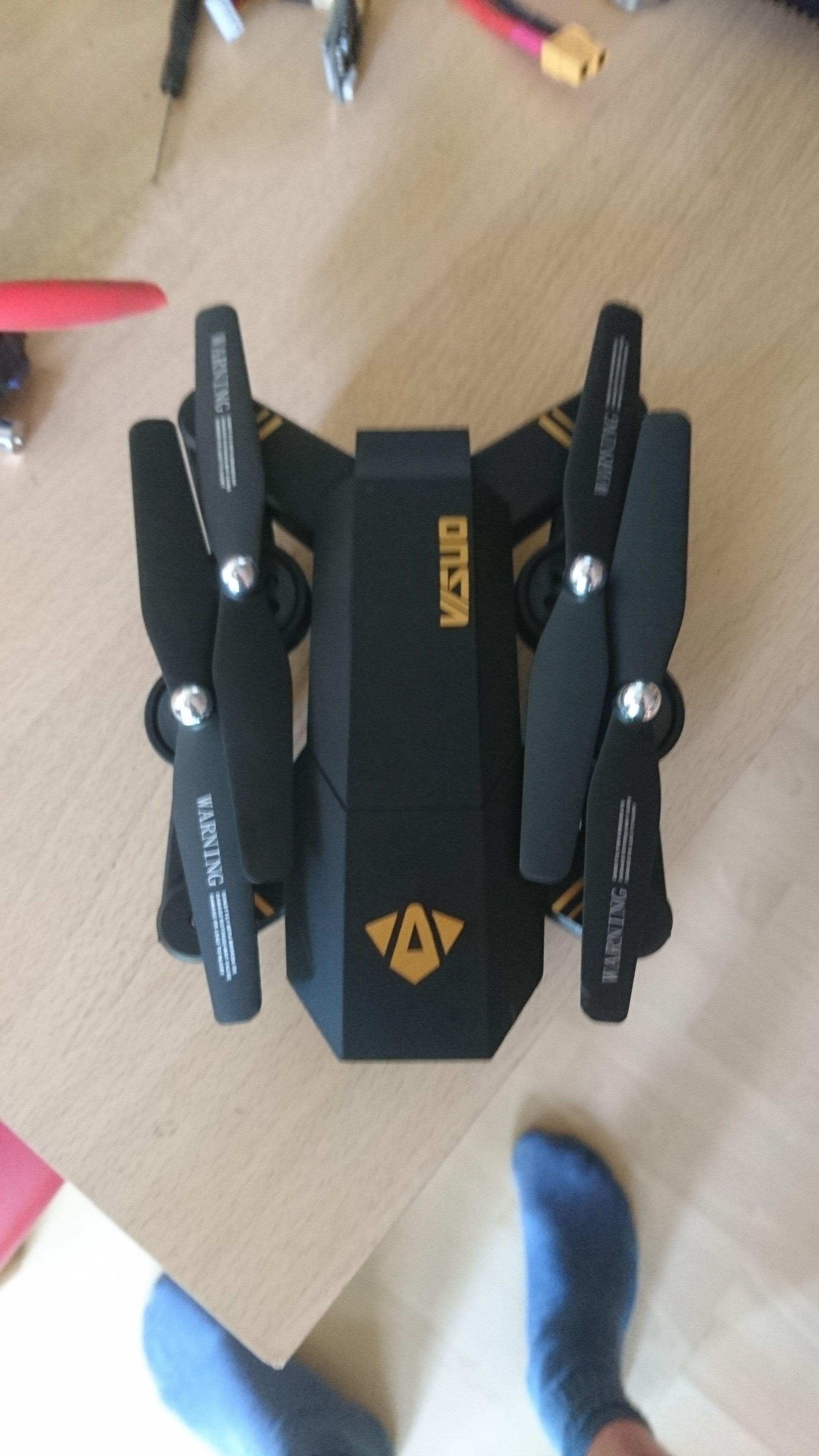 VISUO XS809W faltbarer Quadrocopter FPV, automatisches Halten der Höhe
