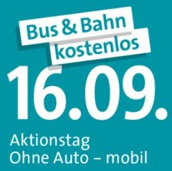 Bus & Bahn kostenlos am 16. September im gesamten DING-Gebiet [lokal Ulm & Umgebung]