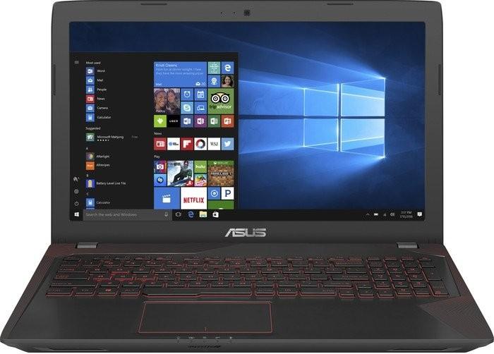 "Asus FX553VD 15,6"" Notebook i7-7700HQ, 8GB RAM, 128GB + 1TB, GTX1050 2GB inkl. ROG BUNDLE"