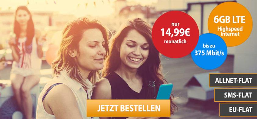 Vodafone Hot Deal junge Leute Tarif (SIM only)
