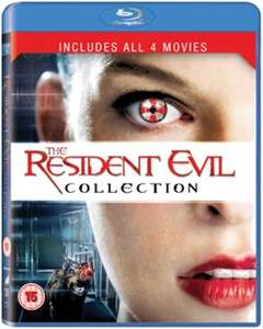 Resident Evil 1-4 (Bluray) (OT) für 6,55€ [Zoom.co.uk]