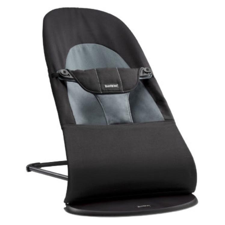 Babybjörn Babywippe Balance Soft in schwarz/grau zum bisherigen Bestpreis von 87,99€ inkl Versand bei babymarkt