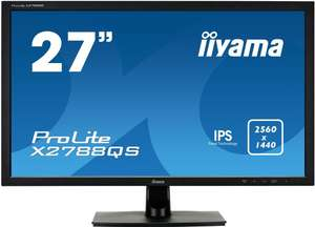 "Iiyama X2788QS-B1 für 255€bei One.de - 27"" IPS-WQHD Monitor mit 2560x1440 Pixeln, FreeSync & Lautsprecher"