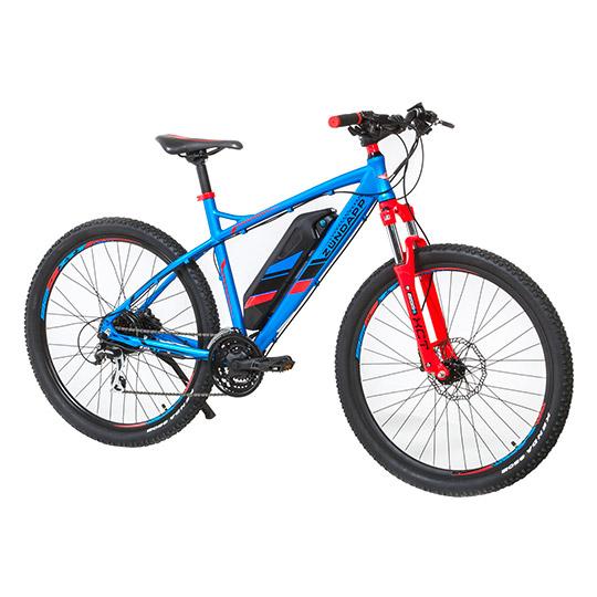 [real.-] Zündapp Alu-Elektro-Fahrrad MTB 650B, 27,5er