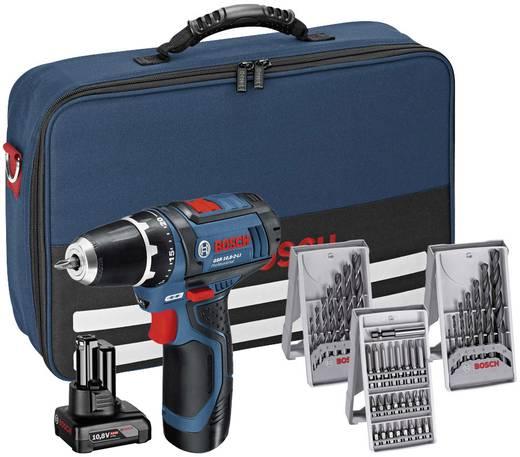 Bosch Professional GSR 12V-15 Akku-Bohrschrauber + 2 Akkus + 25tlg. Bitset + 7tlg. Holzbohrerset + 7tlg. Metallbohrerset + Tasche für 89€ [Conrad]