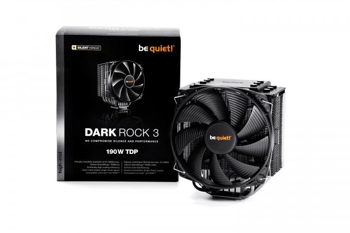 be quiet! Dark Rock 3 CPU-Kühler für 49,90€ [Comtech]
