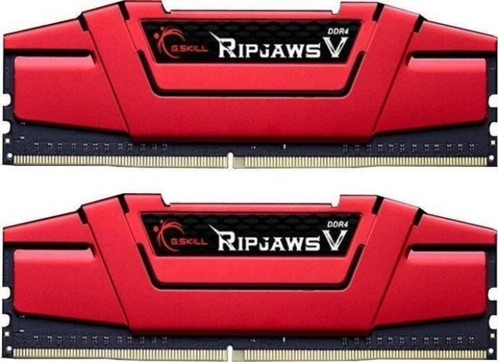 2x8GB G.Skill Ripjaws V Rot DDR4 2800 CL17 Sofort lieferbar