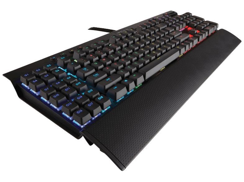 [Mediamarkt] Corsair K95 RGB (RGB Cherry MX Red Performance Multi-Colour RGB Beleuchtung MMO/RTS Mechanische Gaming Tastatur Schwarz) für 119,-€ Versandkostenfrei