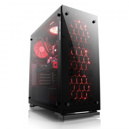 Advanced 3740 - Special Edition - Gaming PC mit Core i7-7700K, GeForce GTX 1070 8GB, 250GB M.2 SSD, 16GB RAM und Wasserkühlung