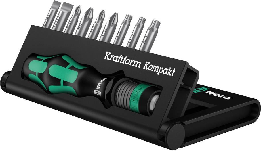 Bei Bestellungen ab 39,00 € Wera Kraftform Kompakt 10 Schraubendrehersatz gratis bei smdv mitbestellen
