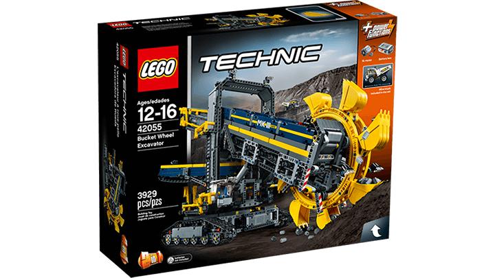 [Metro] Lego Technic 42055 Schaufelradbagger
