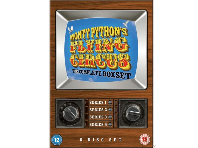 Monty Python's Flying Circus Box (7 DVDs) (OT mit dt. Untertiteln) für 11€ versandkostenfrei [Mediamarkt]