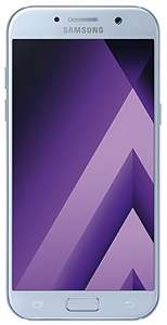 Samsung Galaxy A5 2017 (5,2'' FHD Amoled, Exynos 7880 Octacore, 3GB RAM, 32GB eMMC, 16MP + 16MP Kamera, IP68, 3000mAh mit Quick Charge, Android 7) für 275€ [Amazon]