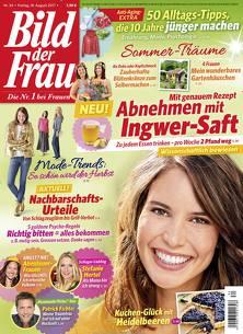 """13 Monate """"BILD DER FRAU"""" für 83,20€ inkl. 80€ Amazon Gutschein"""