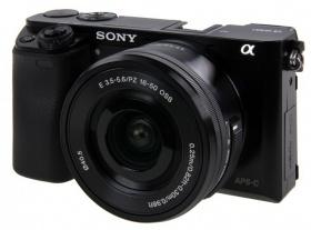 Sony Alpha 6000 Kit 16-50 mm schwarz für 498€ [rakuten.de]