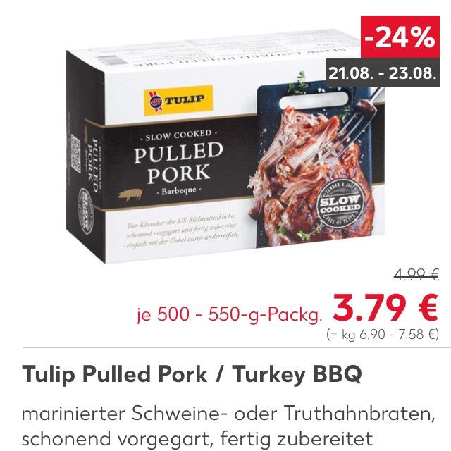 Kaufland: Pulled Pork / Turkey von Tulip