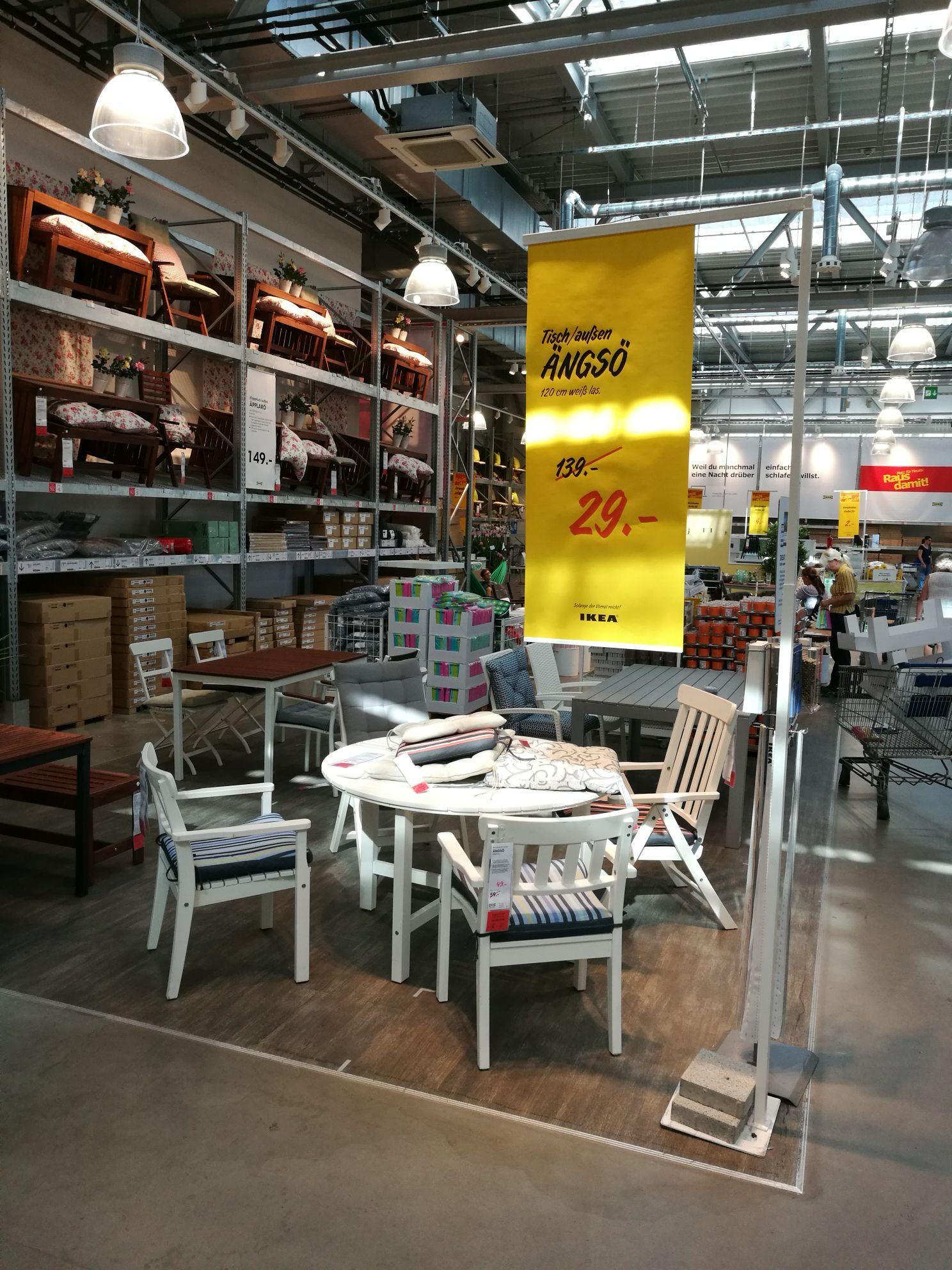 Tisch außen Ängsö von Ikea