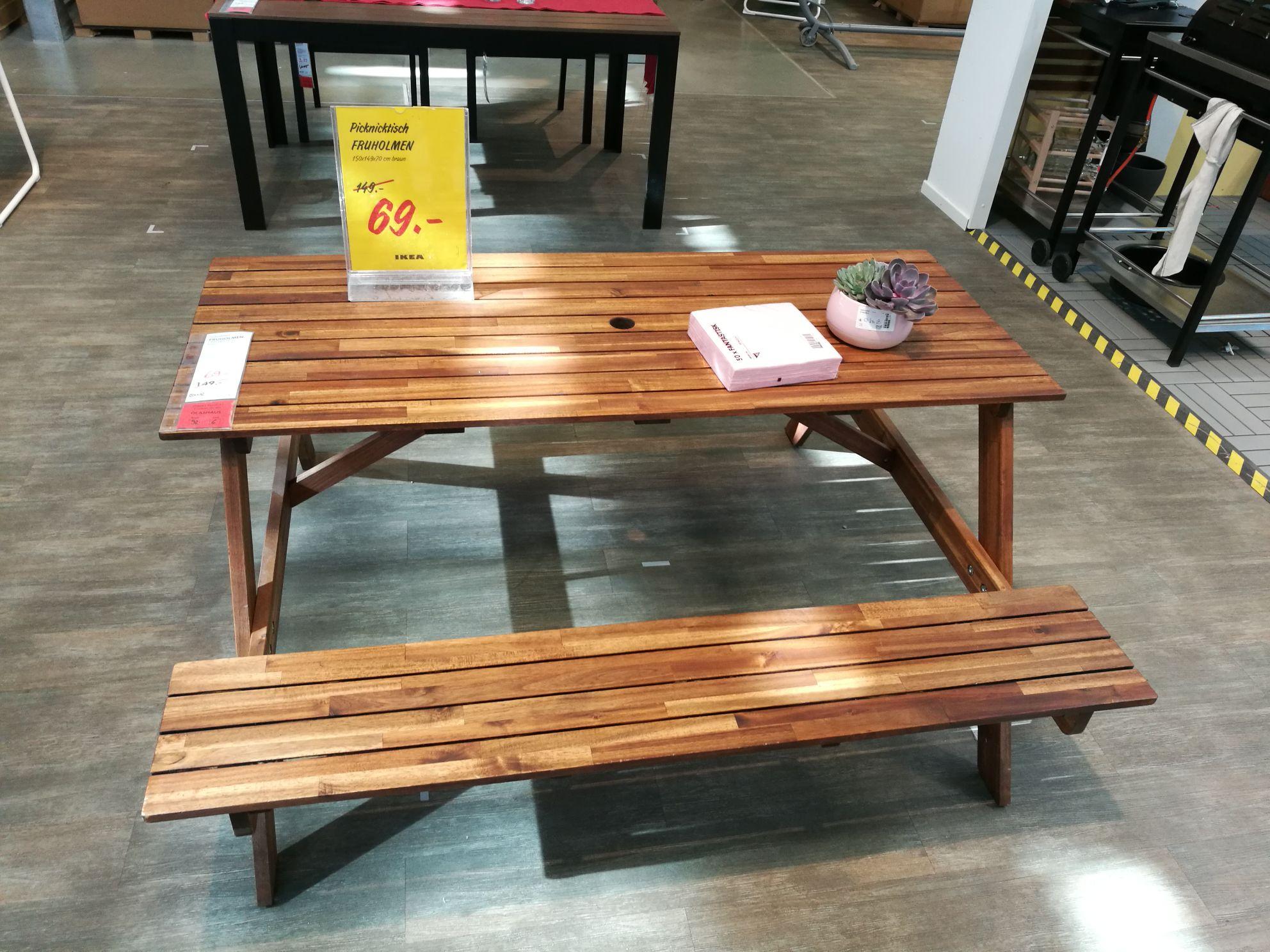 Picknicktisch Fruholmen von Ikea 69 € deutschlandweit