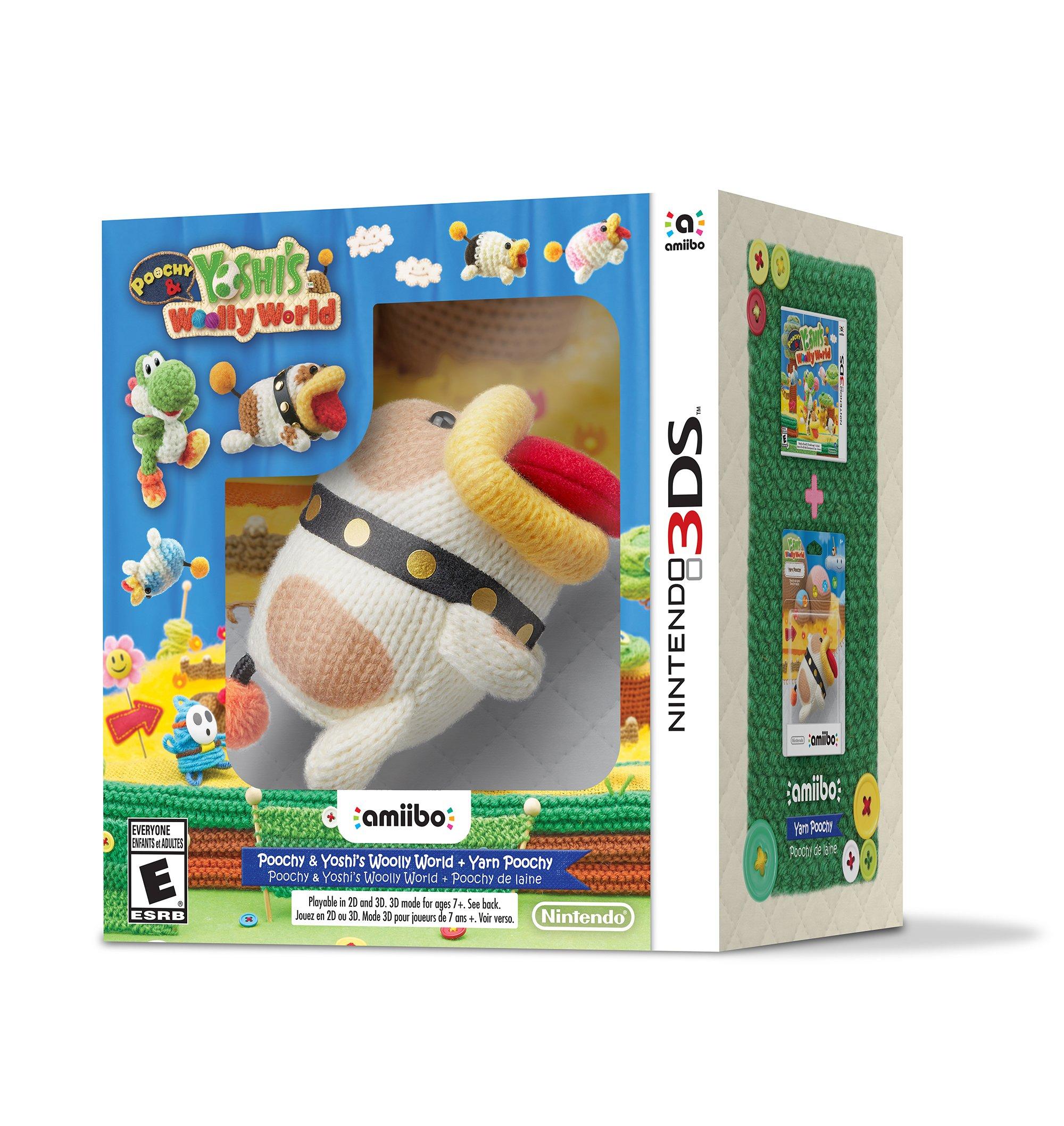 Poochy & Yoshi's Woolly World + amiibo Woll-Schnuffel [3DS] Lokal Expert Brake 18,- Euro