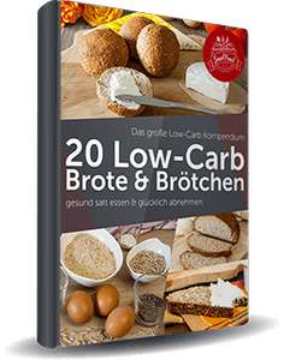 eBook [Gratis] 20 Low-Carb Brote & Brötchen