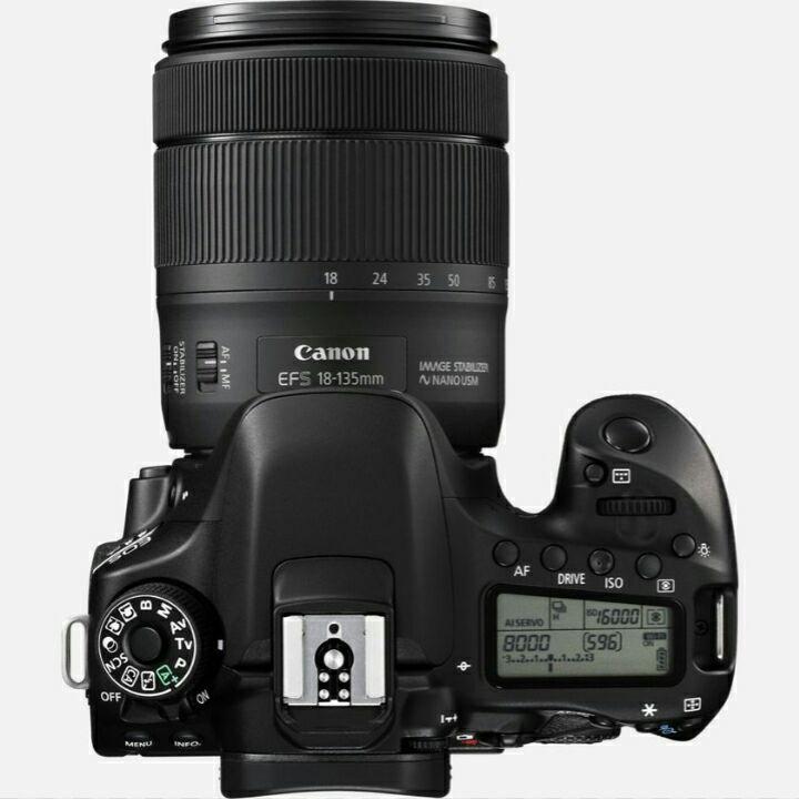 Canon EOS 80D mit 18-135mm USM