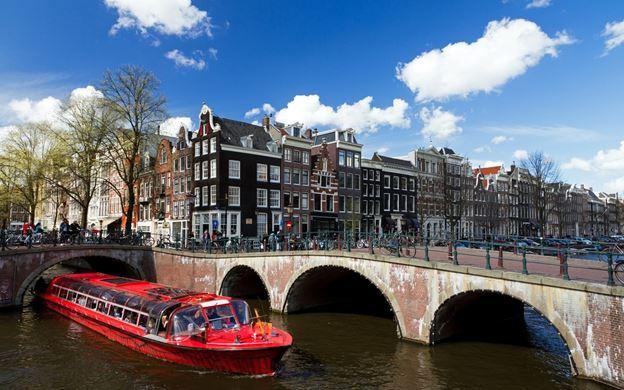 Gratis Grachtenfahrt in Amsterdam für 2 Personen (für Europa Sparticket Inhaber)