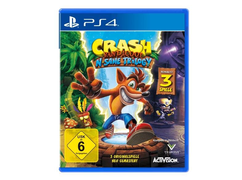 Crash Bandicoot: N. Sane Trilogy (PS4) für 27,-€ bei Abholung [Saturn]
