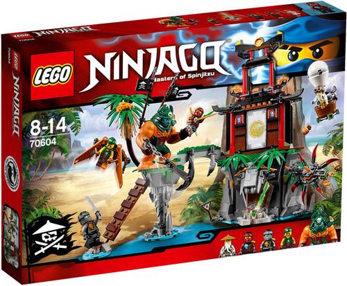 Lego Ninjago 70604 Schwarze Witwen-Insel für 29,98€ versandkostenfrei bei [windeln.de]