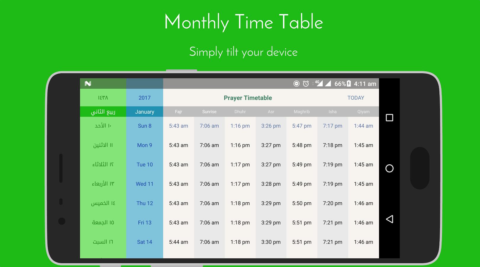 iPray: Prayer Times & Qibla kostenlos (statt 1,19€) [Android]