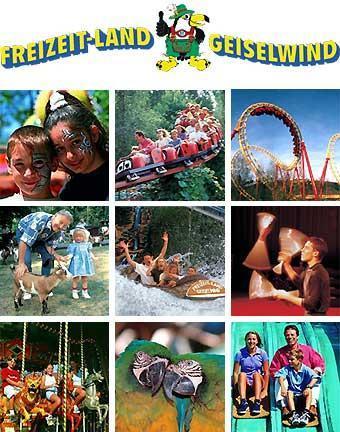 Freizeit-Land Geiselwind - Zwei Tagestickets zum Preis von einem!