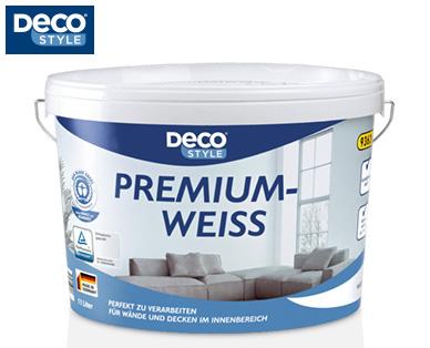 [Aldi-Süd] Deco STYLE®  Premiumweiß Wandfarbe 11 Liter 9,99€ ab 24.08.2017