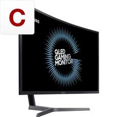 Samsung C32HG70QQU Gaming Monitor, 144Hz, FreeSync 2, VA Panel, 1ms, HDR