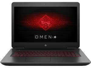 HP Omen 17-w103ng Notebook (17,3'' FHD IPS matt G-Sync, i7-6700HQ, 16GB RAM, 128GB SSD NVMe + 1TB HDD, Geforce 1060 mit 6GB, Wlan ac + Gb LAN, bel. Tastatur, Win 10) für 999€ [Ebay Plus] bzw. 1099€ [Mediamarkt]