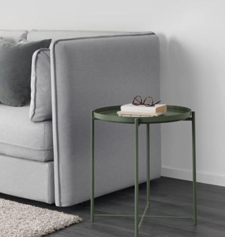 7 Coupon-Deals im September und Oktober bei Ikea, z.B. Gladom Tabletttisch für 9,99€ statt 19,99€
