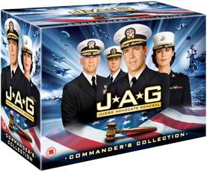 """J.A.G."" - Komplettbox mit Staffel 1-10 (54 DVDs) für 40,04€ (Amazon.fr)"