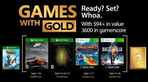 [Games with Gold im September] Forza Motorsport 5: GOTY-Edition + Oxenfree (XBO) & Battlefield 3 + Hydro Thunder Hurricane (X360 + XBO)