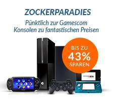 Rebuy OMG Aktion zur Gamescom, z. B. XBOX ONE ab 140