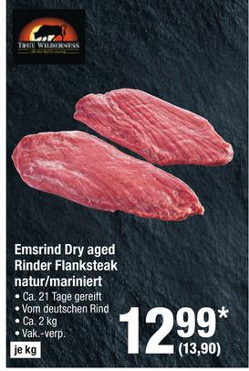 Dry Aged Rinder Flanksteak 1,5kg - Emsrind [Metro]