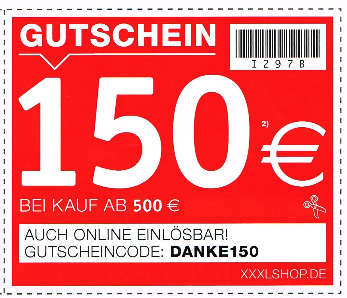 xxxlshop - 150€ Rabatt ab 500€ Kauf von Möbeln und Matratzen (auch auf Sale)