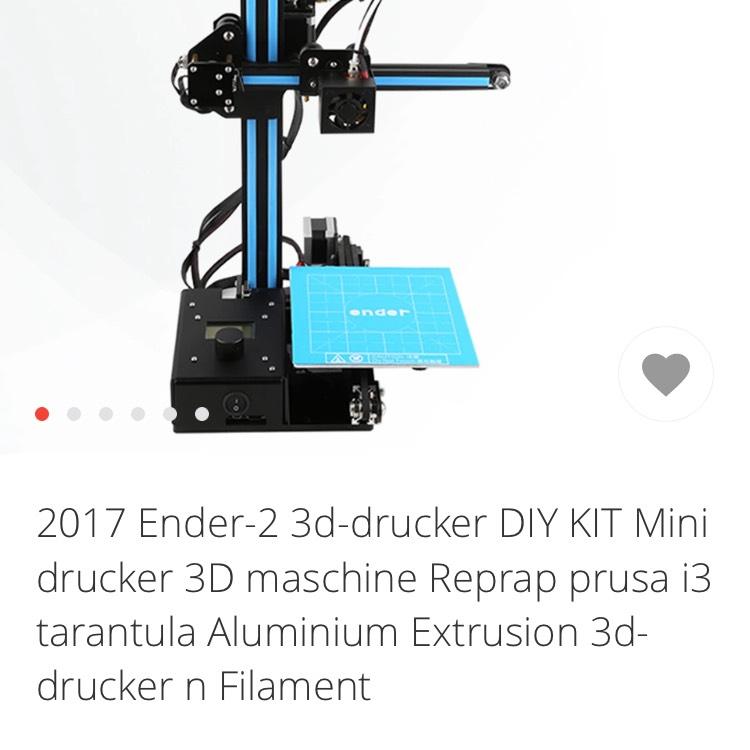 3D Drucker Creality Ender 2 - aliexpress