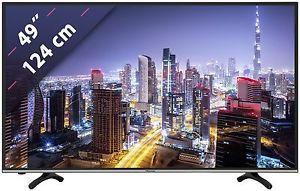 Hisense H49M3000 TV (49'' UHD Edge-lit Dimming HDR, Triple Tuner, 4x HDMI + Scart, 3x USB, LAN + WLAN mit Smart TV, CI+, VESA, EEK A) für 377,40€ [Ebay Plus]
