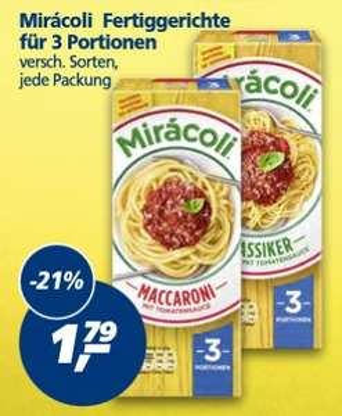 [REAL] Miracoli für 3 Personen 3 x Kaufen a 1,79€ = 5,37€ - 2€ Rabatt Coupon = 3,37€