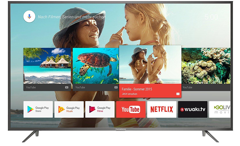 [Amazon] Thomson 65UC6406 165 cm (65 Zoll) Fernseher (Ultra HD, Triple Tuner, Smart TV)