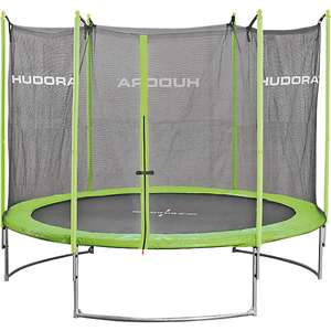 trampolin hudora family 300cm mit sicherheitsnetz f r 147. Black Bedroom Furniture Sets. Home Design Ideas