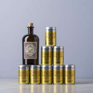 [Delinero] Monkey 47 Gin + 8er Fever-Tree Indian Tonic Water ab 31,23 EUR