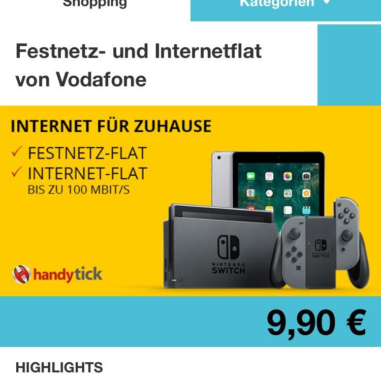 Internet & Festnez Flat