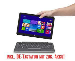 """Dell Venue 11 Pro 5130 3G Z3795 Quad-Core 64GB 10,8"""" FHD Windows 10 64Bit Tablet + Tastatur inkl Akku mit 3G"""
