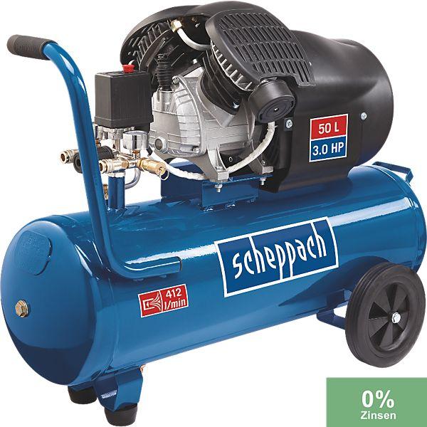Scheppach HC 53 dc Doppelzylinder - Kompressor für 205,99€ [Plus.de]