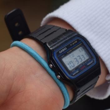 Casio Vintage Armbanduhr F-91W-1YEF für 8,95€ [Amazon.de / Prime]