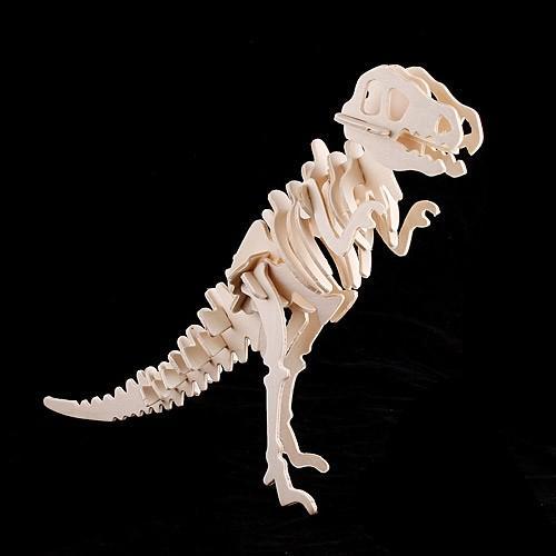 "3D Holzpuzzle ""T-Rex"" für 3 € @ TomTop"